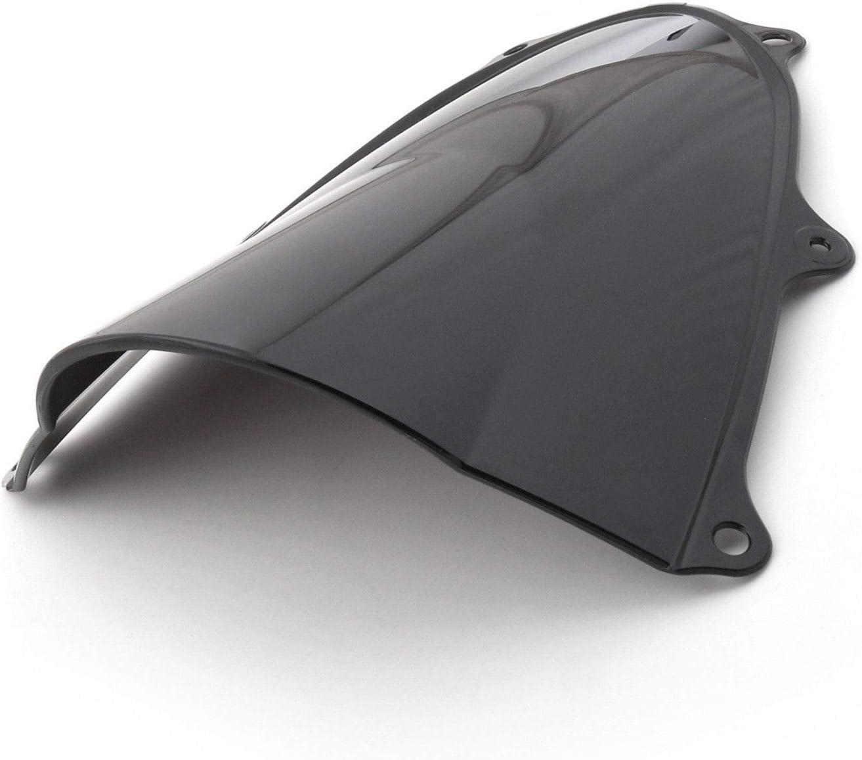 Double Bubble Windshield Windscreen for Suzuki GSXR1000 GSXR 1000 K17 2017-2018 Black