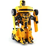 Toys Island Transforming Sports Car (Yellow)