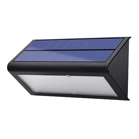 LexonElec impermeable OutLexonElec® 900 lúmenes de luz solar 48 LED impermeable al aire libre vivienda