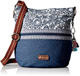 Sakroots Artist Circle Soft Bucket, Navy Spirit Desert