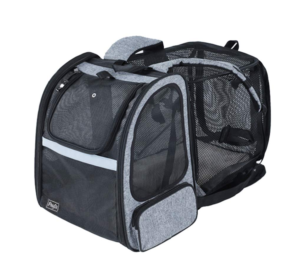 A L33 w27 h44cm A L33 w27 h44cm Pet Bag,Extra Spacious Side Expansion Soft Sided Pet Carrier,Comfort Portable Foldable Pet Bag,Airline Approved Pet Carriers