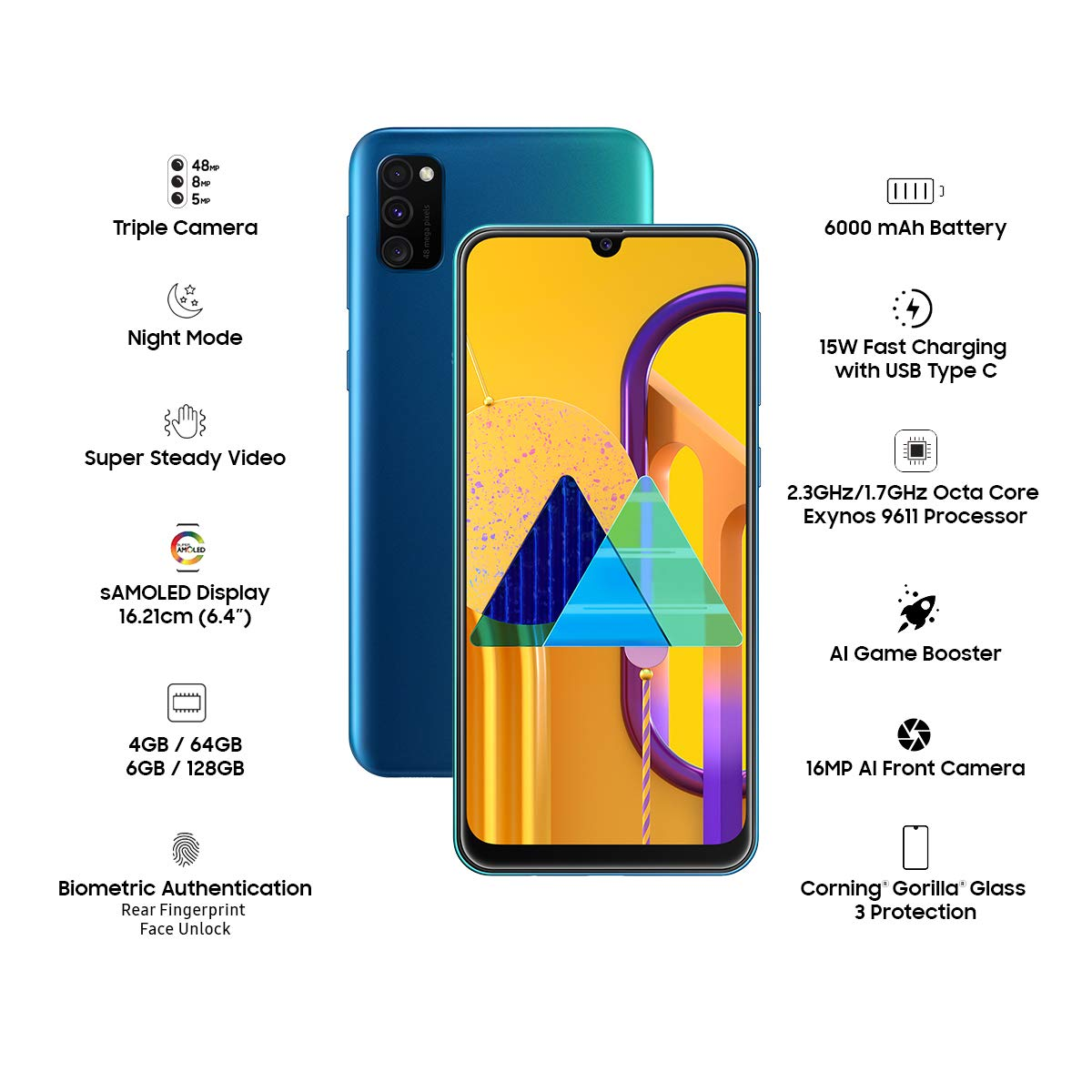 Amazon - Lowest Price – Samsung Galaxy M30s