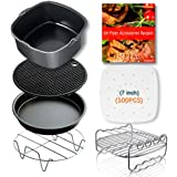 Air Fryer AccessoriesPhillips Air Fryer Accessories and Gowise Air Fryer Accessories Fit all 3.7QT-5.3QT-5.8QT Set of 5-7 inch