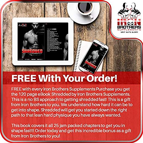 Thermogenic Fat Burners for Men/Women - Hardcore Weight Loss Pills - Appetite Suppressant- Premium Metabolism/Energy Booster – 60 Gel Capsules - Keto Friendly - Iron Brothers Thermo Burn by Iron Brothers Supplements (Image #5)