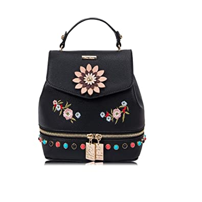 acfcd5958 RenDian Women's Mini Cute Fashion Backpack Purse Anti Theft Leather  Shoulder Bags, for Travel/