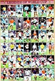 J-1734 Legend of World Cup Football,soccer Poster - Rare New - Image Print Photo