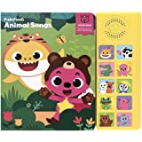 Pinkfong Children's Animal Songs Sound Book Green/Yellow 8.7 x 7.8