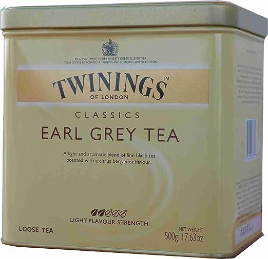 2 opinioni per Twinings- Tè Earl Grey in foglie, 1 confezione (1 x 500 g)