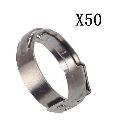 Amazon com: JIUAUTOPARTS 50PCS 3/4 inch PEX Stainless Steel