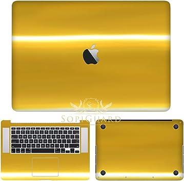 SopiGuard 3M 1080 Carbon Fiber Skin Top Bottom for Apple Macbook Air 13