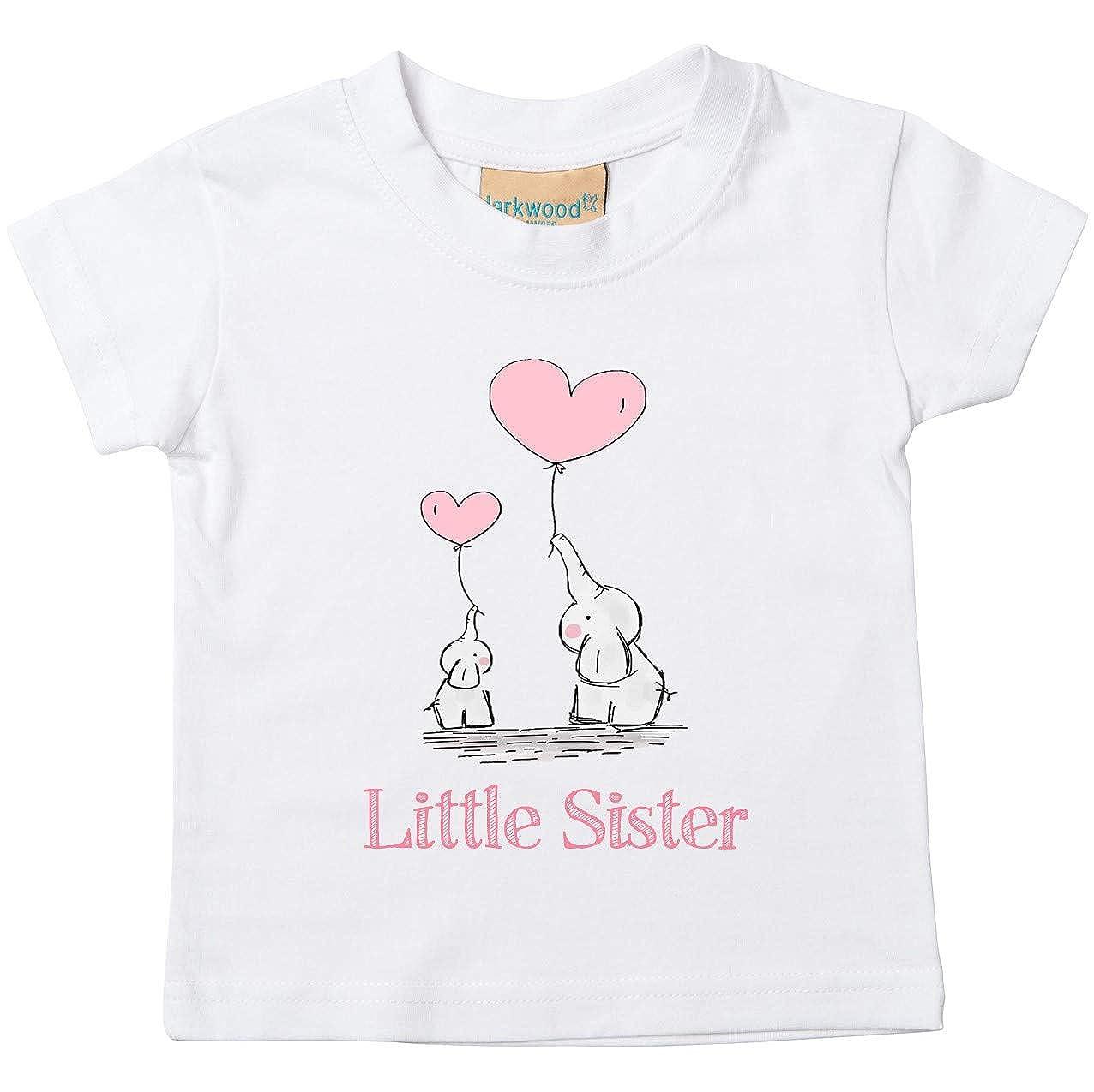 Direct 23 Ltd Big /& Little Sister Wreath T-Shirts /& Bodysuits