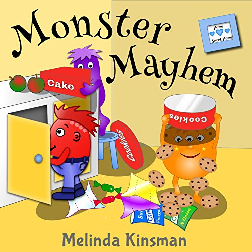Monster Mayhem: Funny Rhyming Bedtime Story -  Picture Book / Beginner Reader (Ages 3-7) (Top of the Wardrobe Gang Picture 1)