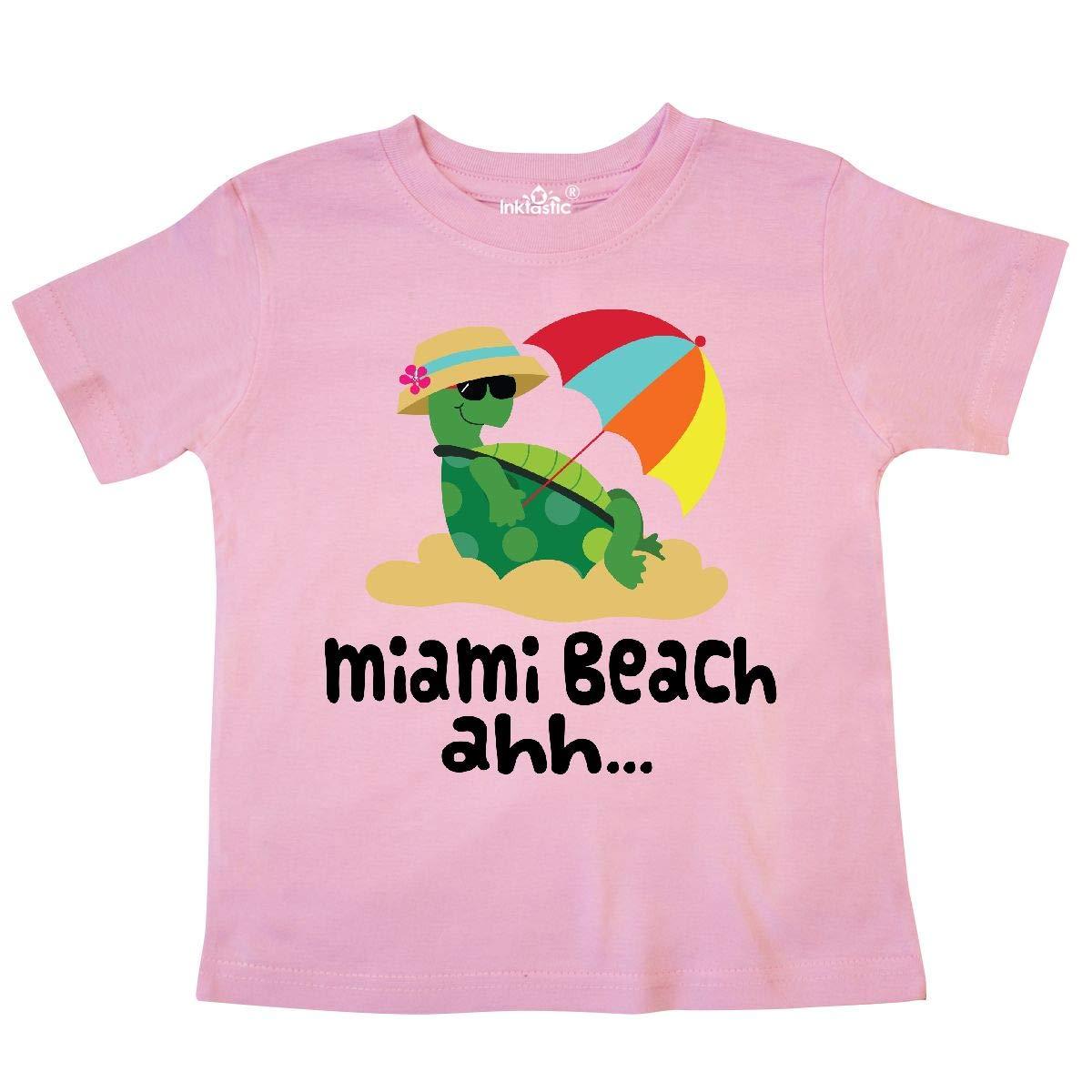 inktastic Miami Beach Florida Toddler T-Shirt