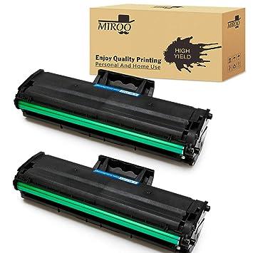 Amazon.com: Miroo 2 x Negro, 101 cartucho de tóner para ...