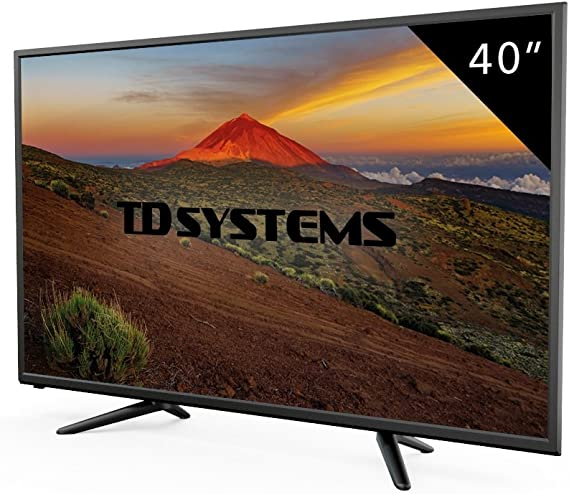 Televisor Led 40 Pulgadas Full HD, TD Systems K40DLT7F. Resolución 1920 x 1080, 3X HDMI, VGA, USB Reproductor y Grabador.: Amazon.es: Electrónica