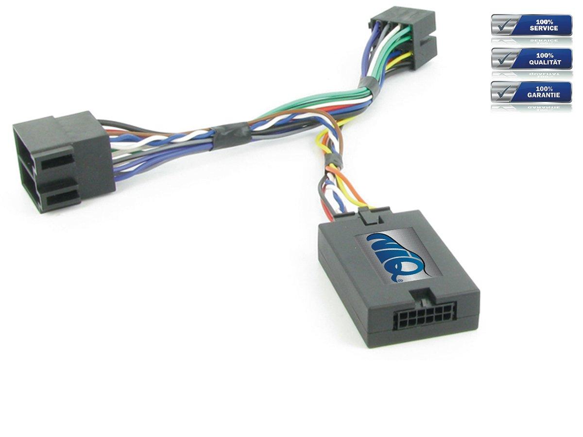 JVC Lenkrad Fernbedienung Adapter Peugeot 206 / 307 / 406 / 607 / 807 / Partner NIQ 42-PG-906