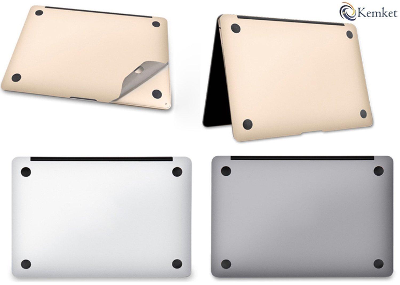 or 12,1 pollici Laptop inferiore e superiore copertura protettiva della pelle includono protezione dello schermo MacBook 5 in 1 pellicola proteggi schermo per Apple MacBook Pro Retina poggiapolsi con Trackpad facile da installare /& Auto assorbimento