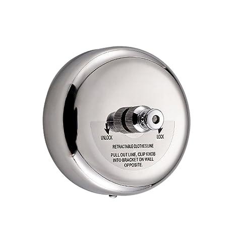 Tendedero para interiores resistente para ducha, baño lavandería secado secador de acero inoxidable línea de