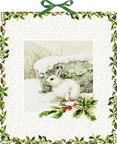 Wandkalender – Marjoleins Schneehase