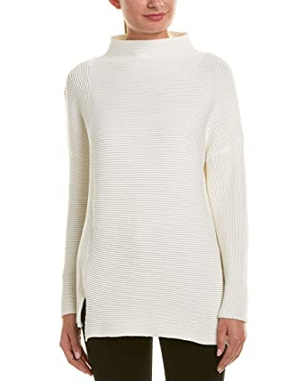 c79e059cc51 Amazon.com: French Connection Womens Mozart Sweater, S, White: Clothing