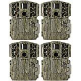 (4) MOULTRIE Game Spy M-880 Gen2 Low Glow Infrared Digital Trail Cameras | 8 MP