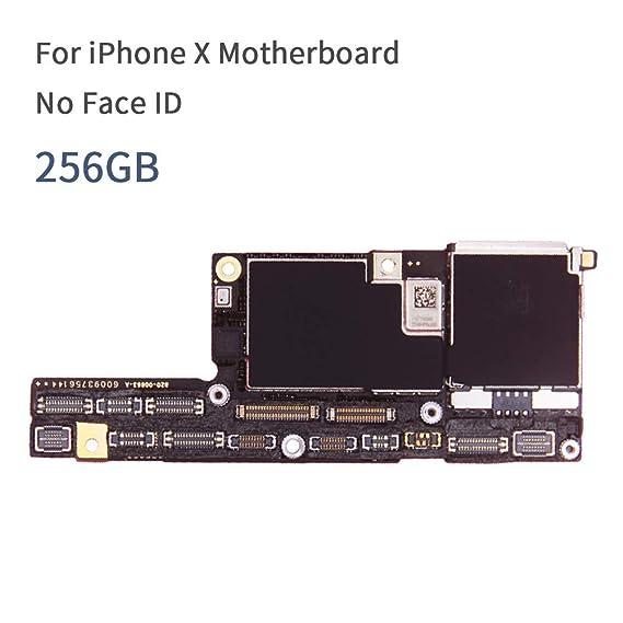 Amazon.com: 100% Original Motherboard for iPhone X Mainboard ...