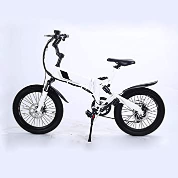 Xiuxiu 20 Ruedas eléctricas Plegables de la E-Bici de la Bicicleta ...