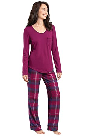 d01539e181 PajamaGram Womens Flannel Pajamas Sets - World s Softest Pajamas for ...