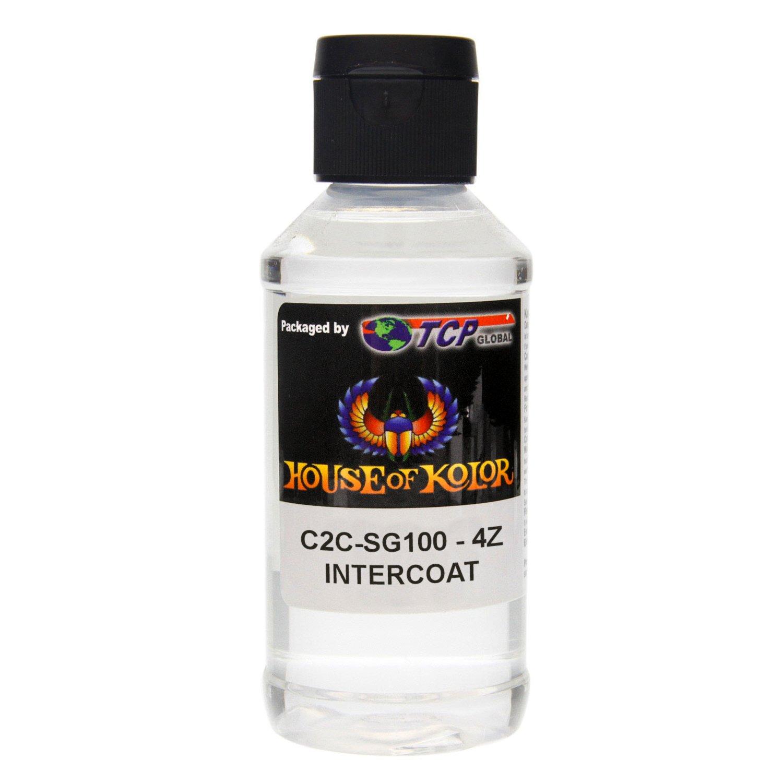House of Kolor SG100 Intercoat Klear Midcoat Clearcoat Low VOC, 4-Ounce Bottle