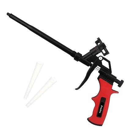 Pistola de espuma, pistola de espuma de poliuretano extensible de alta resistencia, aplicación en