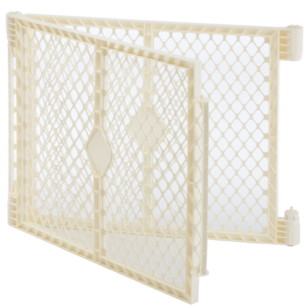 North States Superyard Ultimate 2 Panel Extension, Ivory, 1-Pack 8771
