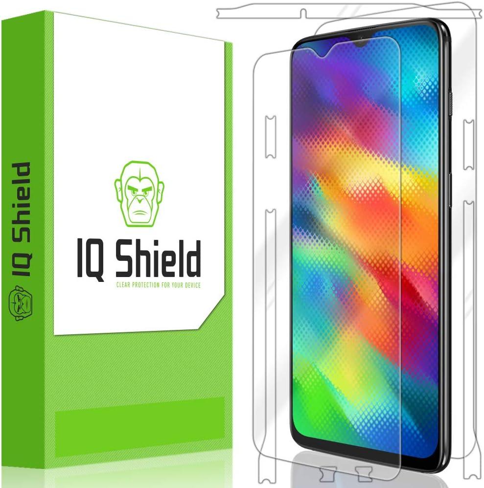 IQ Shield Matte Full Body Skin Compatible with OnePlus 5T Full Coverage Screen Protector and Anti-Bubble Film Anti-Glare