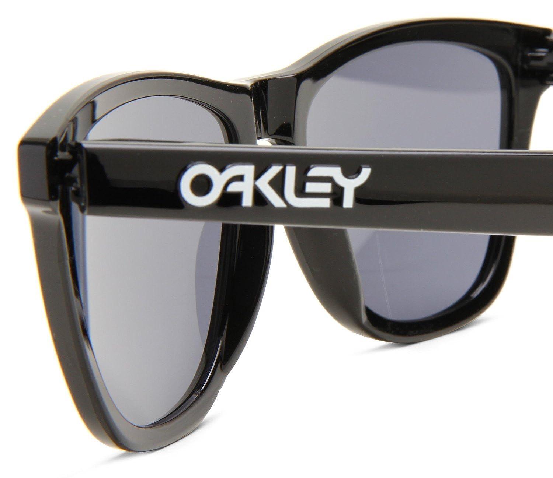Amazon.com: Oakley Frogskins 24-306 Sunglasses Polished Black/Grey 55mm:  Clothing