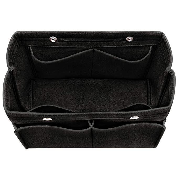 193f8a0a64e2 Amazon.com  Felt Insert Bag Organizer Bag In Bag For Handbag Purse ...