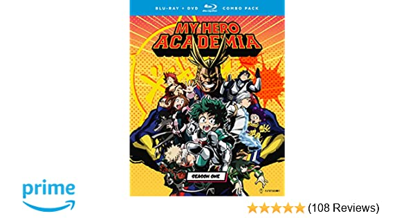 Amazon com: My Hero Academia: Season One [Blu-ray