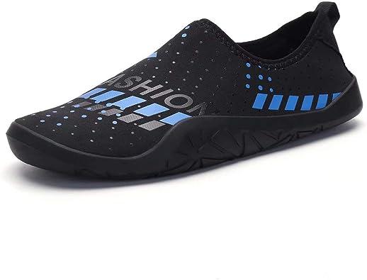 Water Shoes for Men-Diving Socks Quick-Dry Aqua Socks Barefoot Outdoor Beach Swim Surf Yoga Exercise