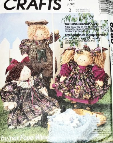 OOP McCall's Crafts Pattern 6280. 21