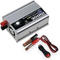 KKmoon Inversor de Corriente de 12v a 220v, Convertidor 300W de Onda Modificada Transformador
