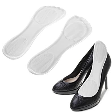 00f0e7537ac90 CGT Silicone High Heels Pain Relief Foot Care Cushion Arch Support Shoe  Anti Slip Feet Insole Pad (Transparent) - 1 Pair
