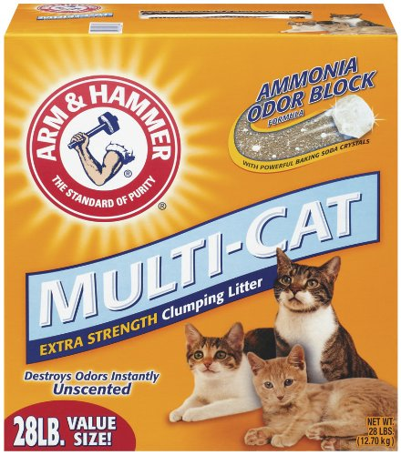 Arm Hammer Multi Cat Unscented 28 Pounds