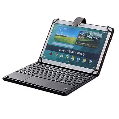 J&H Funda de Piel para Teclado de Tableta de 10 Pulgadas, Acer Iconia Tab A3