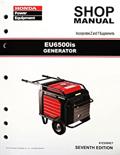 amazon com honda eb6500 generator service repair shop manual rh amazon com honda eb6500x shop manual honda eb6500 owners manual