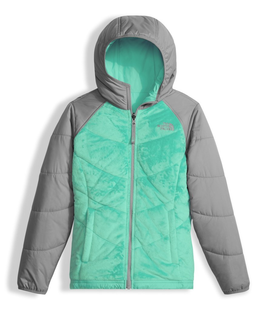 The North Face Girl's Reversible Perseus Jacket - Bermuda Green - L (Past Season) by The North Face
