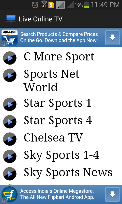 Live Online TV Free: Amazon.es: Appstore para Android