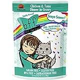 Weruva B.F.F. OMG - Best Feline Friend Oh My Gravy!, Seeya Sooner! with Chicken & Tuna in Gravy Cat Food by, 2.8oz Pouch (Pack of 12)