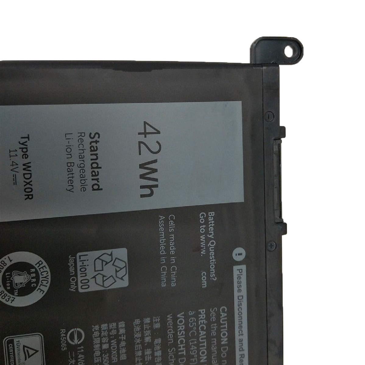 Dentsing 42Wh WDX0R Laptop Battery For DELL Inspiron 15 5568 7560 5567 / 13 7368 Series / Inspiron 13 5378 14-7460 / Dell Inspiron 17-5770 Inspiron 13 5379 Inspiron 15 7570 WDXOR by Dentsing (Image #4)