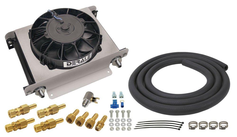 Derale 13960 Hyper-Cool Remote Transmission Cooler