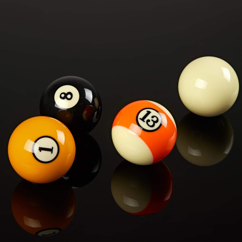 Several Styles Available Collapsar AAA Grade Billiard Pool Ball Set,2-1//4 Regulation Size /& Weight Full 16 Resin Balls