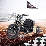 SAY YEAH Electric Drift Go Car 500W 48V Trike Single Rider Funny Toys E Scooter 3 Wheel Crazy Car Flashrider 360 Boys Girls