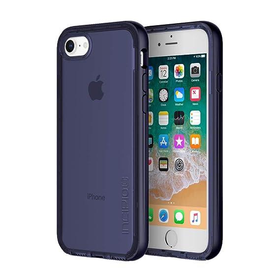 the latest ef175 55863 Incipio Octane LUX iPhone 8 Case with Translucent Interior and Metallic  Bumper for iPhone 8 - Midnight Blue